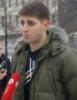 Кочиев Алан у посольства Германии