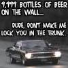 9999 bottles of beer