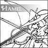 Hamel and violin