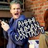 Ahhh! Human contact! (iconsbycurtana)