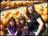 CPL & Girls at Pumpkin Patch