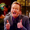 idioticonion: HIMYM Barney Thumbs Up