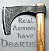 Axemen have beards