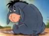грустный ослик