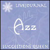 Azure Jane Lunatic: suggestions queen