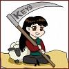 Keys: Keys scythe