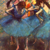 [paintings] degas ballerinas