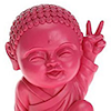 Cool Pink Buddha