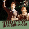 The Doctor: the ftw has arrived