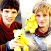 merlin: boys with bears