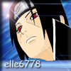 Elle posting in A 50 themed Naruto Community