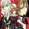 kaname, Vampire knight, zero, yuuki