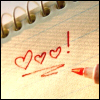 Writing - Hearts!