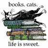 Phoenix Anew: books and cats