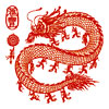 China. White dragon