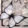 бабочки-витраж