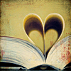 kerichi: Book pages make a heart