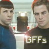 rhienelleth: kirk and spock BFF