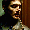 SPN - Dean looking sideways