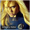 Sue Storm angry