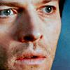 Oh Castiel!: Castiel: blue stare
