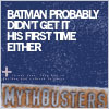 mythbusters batman