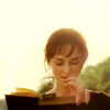 Asta: pic eliza bennet reading