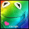 rainbow kermit OMG, courtesy of livelovelaughp