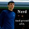 Sanguine Pen: Spock - Nerd