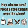 nano- stop talking characters