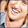 Blue: Owen Wilson//Smiley