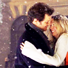 bridget jones -- snow hug