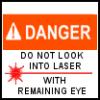 Rowan aka: The Seticat: fun - laser-warning - mine
