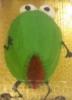 angry green vagina cake