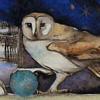owl and globe