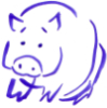 doodle pig