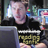 Tori: not working - reading fanfiction