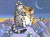 коты-тромбонист