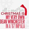 Christmas (Dean in Impala)
