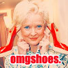 Landice-Leigh Hepburn-Bankhead: actress: christine ebersole [shoes]