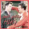 hug - joey/chandler