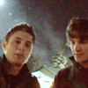 tv ; spn ; baby it's cold outside
