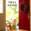 Christmas door allbottledup
