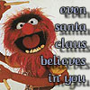muppetology animal santa