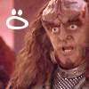 Little Red: trek - gowron :O - stargater