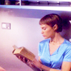Little Red: trek - t'pol reading - afterglowss