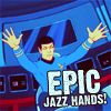 trek - ani jazzhands - rightonicons