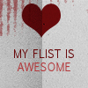 text: my flist is awesome