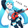 miku - rock on