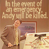 Andy Will Be Killed
